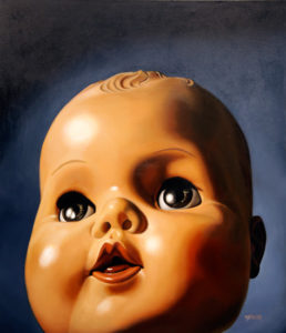 Big Baby, 2012 Oil on canvas 56 x 48 inches; 142.2 x 121.9 cm