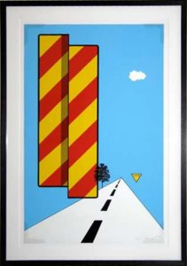 Yield, 1968 Screenprint on paper 30 x 19 inches; 76.2 x 48.3 cm Signed and dated  Edition: 144
