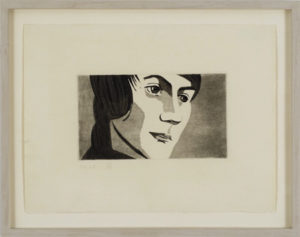Timmie, 1967 Lithograph on paper Paper size: 11 x 15 inches;  27.9 x 38.1 cm Frame size: 14 x 18 inches;  35.6 x 45.7 cm Signed and numbered Edition: 50