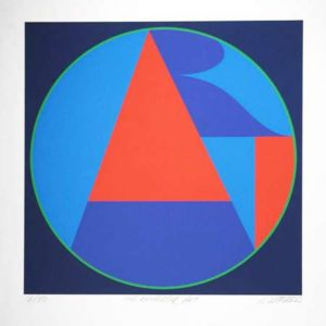 The Neuberger Art, 1975 Screenprint on paper  34 x 30 inches; 86.4 x 76.2 cm Numbered, titled and signed lower margin Edition of 50