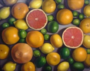 Citrus, 2005 Oil on canvas 24 x 30 inches; 61.0 x 76.2 cm SOLD
