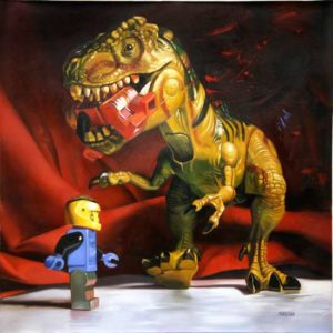 Encounter #1, 2012Oil on canvas56 x 56 inches; 142.2 x 142.2 cmSOLD