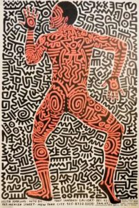 Untitled (Tony Shafrazi Gallery), 1984 Offset lithograph on paper 35 x 23 inches; 88.9 x 58.4 cm