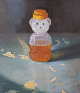Honey Bear, 1998 Oil on wood panel 12 x 10.25 inches; 30.5 x 26 cm