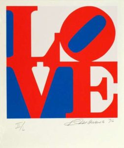 Love (The Book of Love Portfolio), 1996 Serigraphs in colors on ANW Crestwood Museum Edition paper 24 x 20 inches; 61 x 50.8 cm Edition of 200 Signed LR, numbered LL