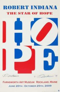 Hope (Farnsworth Art Museum), 2009 Silkscreen on paper 40 x 26 inches; 101.6 x 66 cm Unlimited edition (10 signed in pencil) Signed in pencil LL