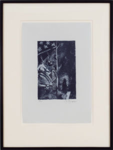 Summer (Blue), 1985-91 Lithograph on pale grey J.Whatman paper Paper size: 16.2 x 11.2 inches;  41.1 x 28.4 cm Frame size: 25 x 19 inches;  63.5 x 48.3 cm Signed, dated and numbered Edition: 225