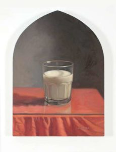 Milk, 1999 Oil on wood panel 16.5 x 12 inches; 41.9 x 30.5 cm