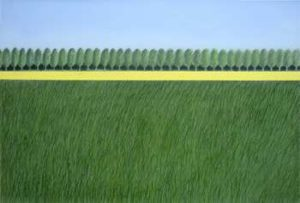 Nature Humanized, 2007 Oil on canvas 24 x 36 inches; 61 x 91.4 cm