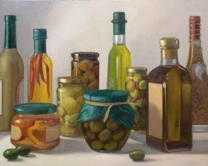 Olives, 2005 Oil on canvas 24 x 30 inches; 61.0 x 76.2 cm