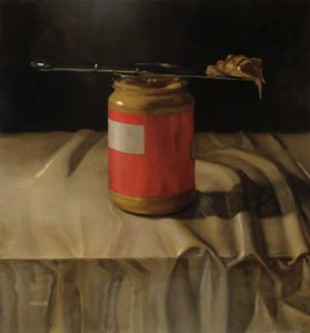 Peanut Butter, 2005 Oil on canvas 48 x 44 inches; 121.9 x 111.8 cm