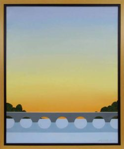 Sunrise, 2012 Acrylic on canvas 27.5 x 23.5 inches; 69.9 x 59.7 cm Framed