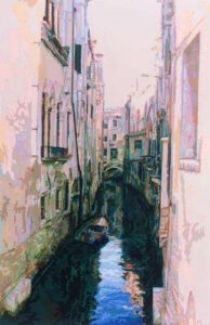 Venice, 2000 Hand-cut Coloraid paper on archival paper Image: 32 1/2 x 21 inches; 82.6 x 53.3 cm Framed: 39 x 28 3/8 inches; 99.1 x 72.1 cm
