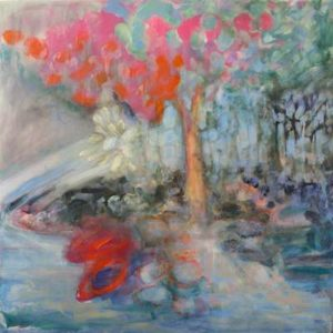 Landscape I, 2012 Oil on wood 24 x 24 inches; 61 x 61 cm