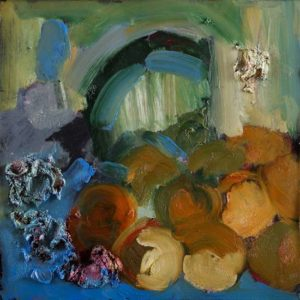 Still Life II, 2012 Oil on paper 21 x 17 inches; 53.34 x 43.18 cm Signed on verso Framed