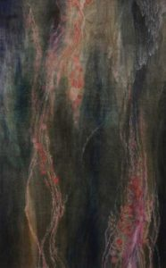 Linkage, 2012 Oil on wood panel 38.75 x 24 inches; 98.43 x 60.96 cm Signed on verso Framed