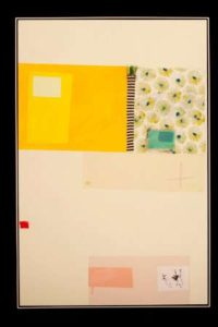 Untitled 1, 2013 Collage on canvas 59 x 39 in; 150 x 99 cm