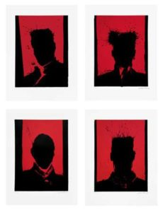 Gang of Four, 2005 Four screenprints on Rives BFK Paper SHEET: 30 x 22 inches IMAGE: 22 1/4 x 16 1/2 inches Edition: 20 Signed and dated lower right, numbered lower left