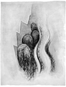 Some Memories of Drawings,  Plate II Drawing Number 13, 1968 Lithograph on paper 28 x 20 inches; 71.1 x 50.8 cm Edition: 230  Complete portfolio available