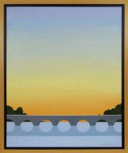 Sunrise, 2012 Acrylic on canvas 27.5 x 23.5 inches; 69.9 x 59.7 cm Framed